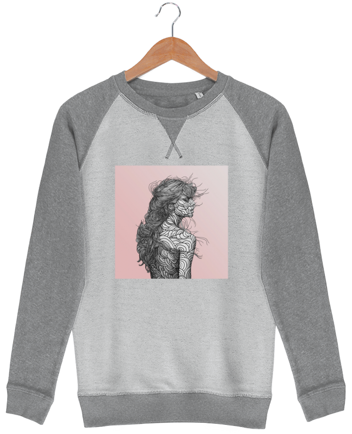 Sweat-shirt Strolls Inside Out Pinksky par PedroTapa