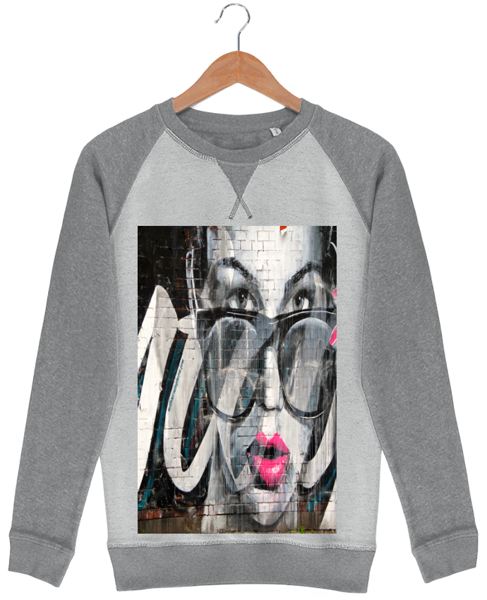 Sweat-shirt Strolls Inside Out Street Art par GirlsNightOut