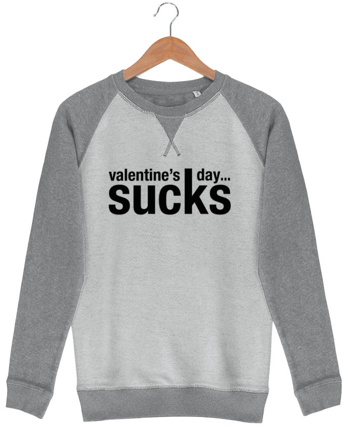 Sweat-shirt Strolls Inside Out Valentine's day sucks par tunetoo
