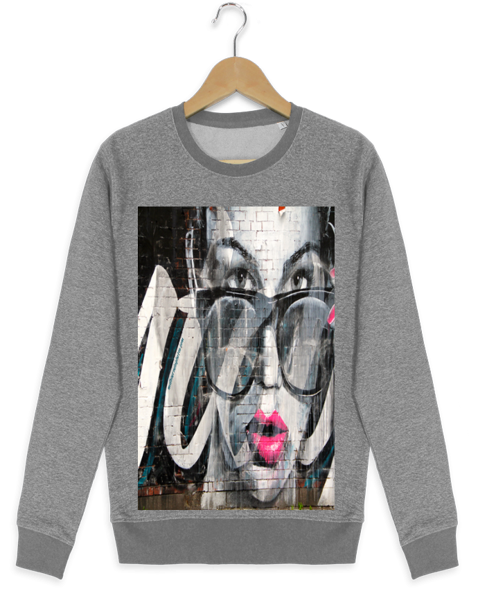 Sweat-shirt Stanley stella seeks Street Art par GirlsNightOut