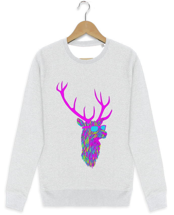 Sweat-shirt Stanley stella modèle seeks Party deer par robertfarkas