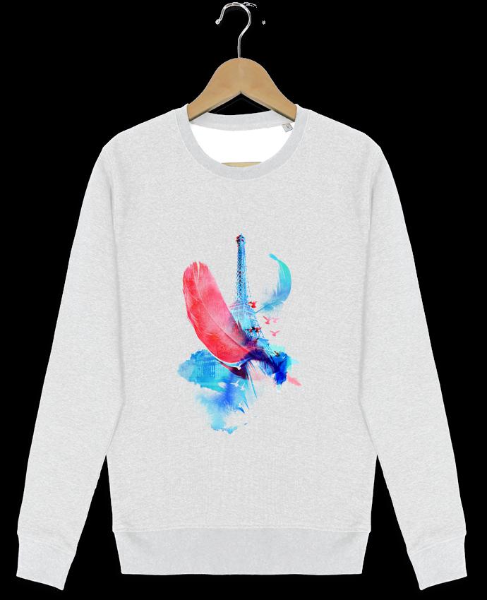 Sweat-shirt Stanley stella modèle seeks Pigeons of Paris par robertfarkas