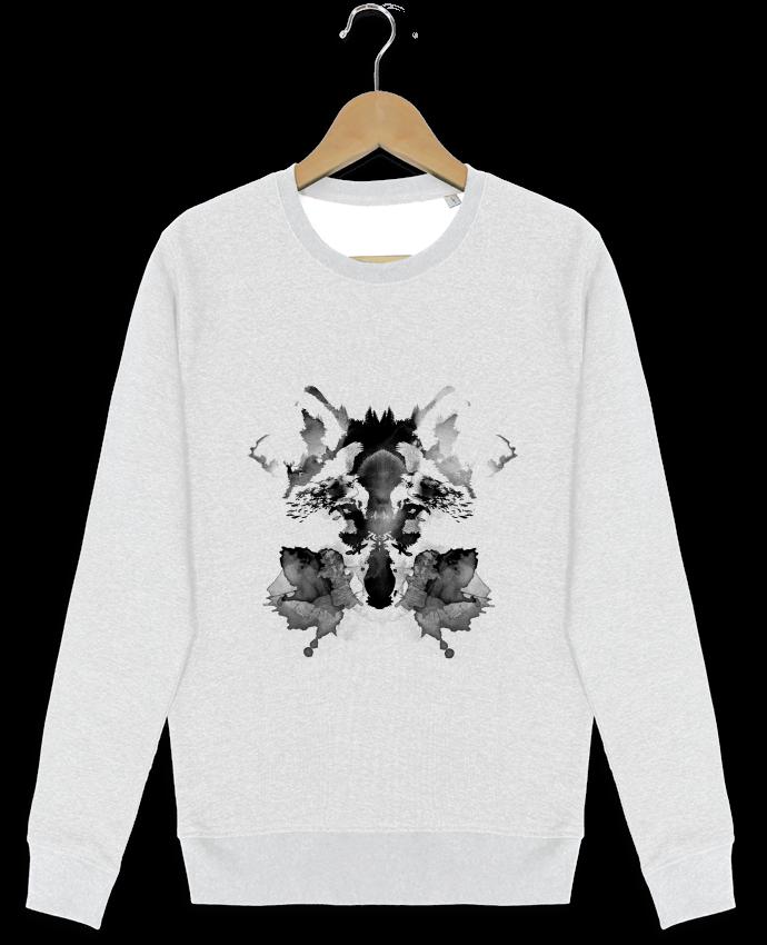 Sweat-shirt Stanley stella modèle seeks Rorschach par robertfarkas