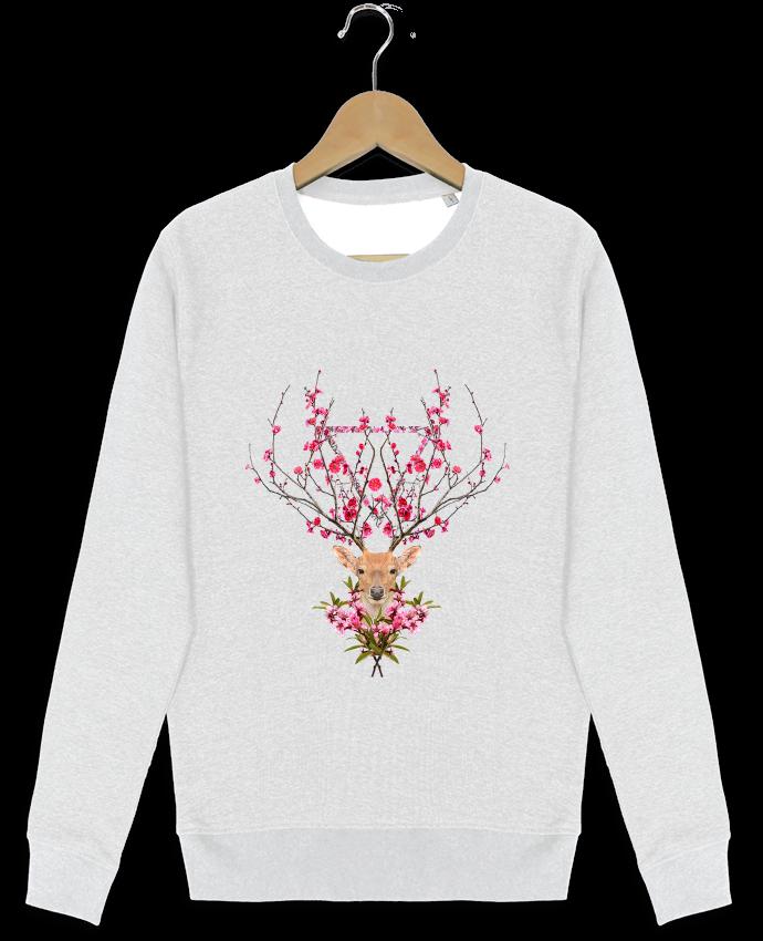 Sweat-shirt Stanley stella modèle seeks Spring deer par robertfarkas