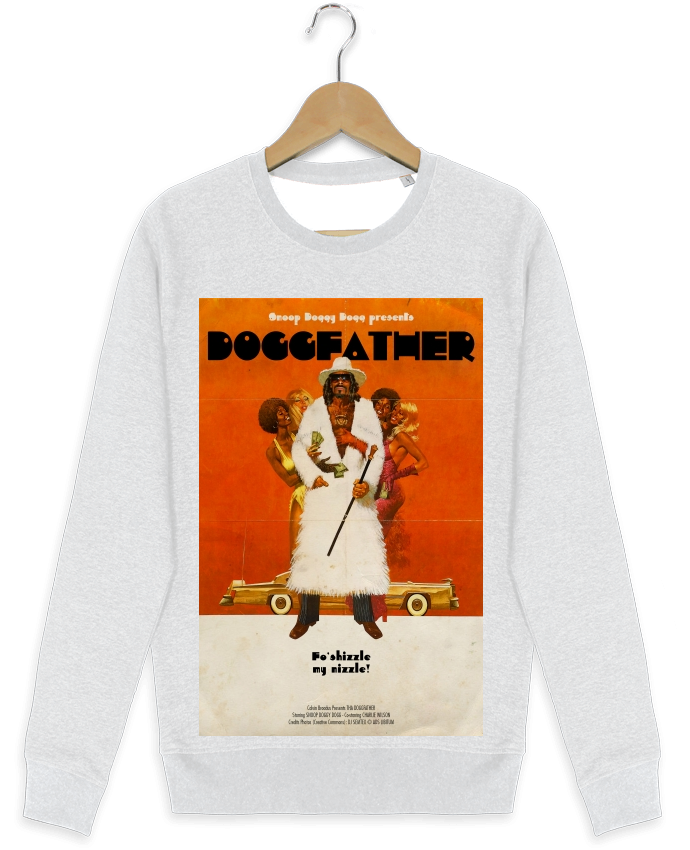 Sweat-shirt Stanley stella modèle seeks Doggfather par Ads Libitum