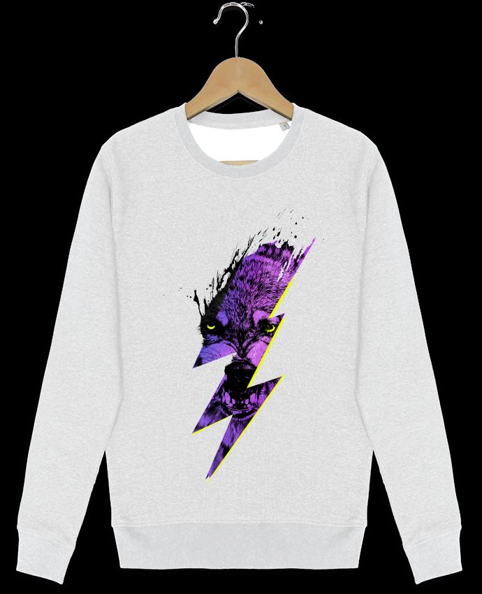 Sweat-shirt Stanley stella modèle seeks Thunderwolf par robertfarkas