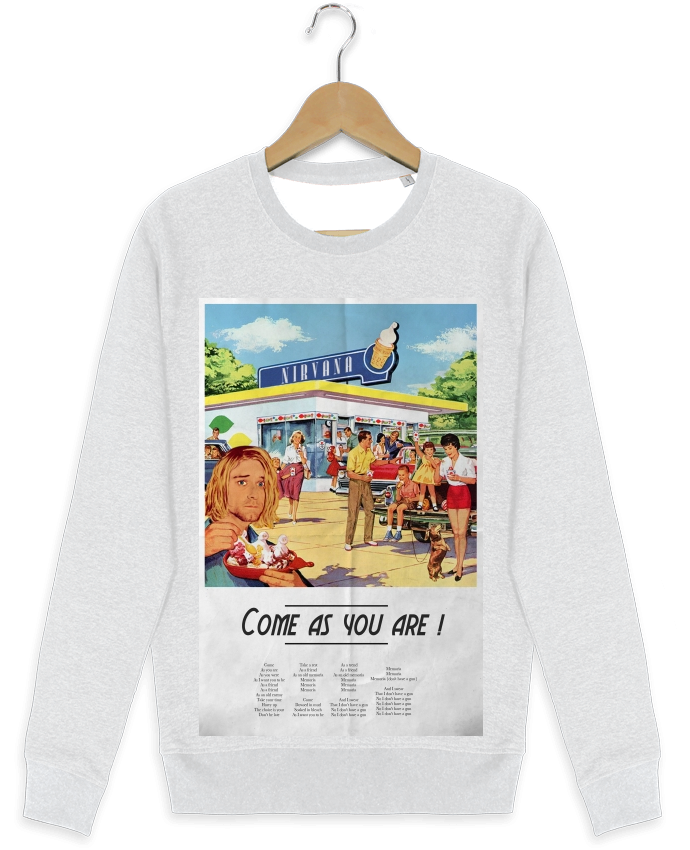 Sweat-shirt Stanley stella modèle seeks Come as you are par Ads Libitum