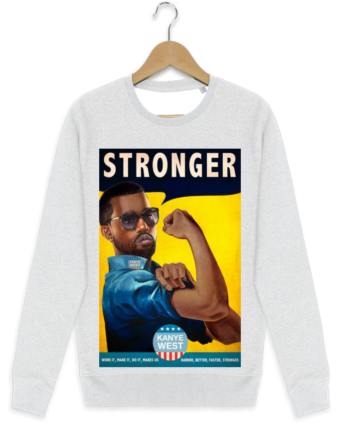 Sweat-shirt Stanley stella modèle seeks Stronger par Ads Libitum