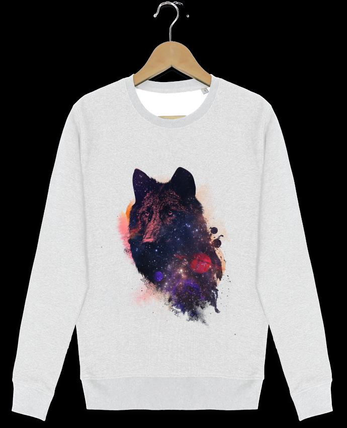Sweat-shirt Stanley stella modèle seeks Universal wolf par robertfarkas