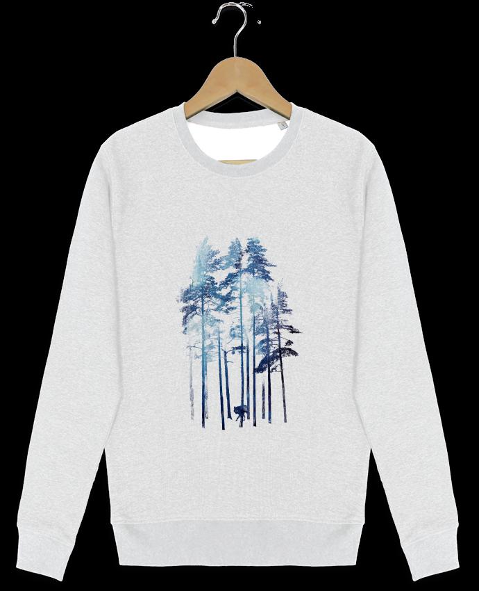 Sweat-shirt Stanley stella modèle seeks Winter wolf par robertfarkas
