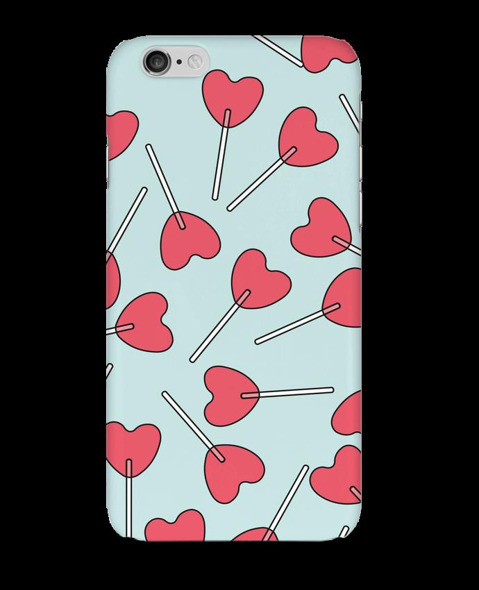 Coque 3D Iphone 6 Sucettes coeur par tunetoo