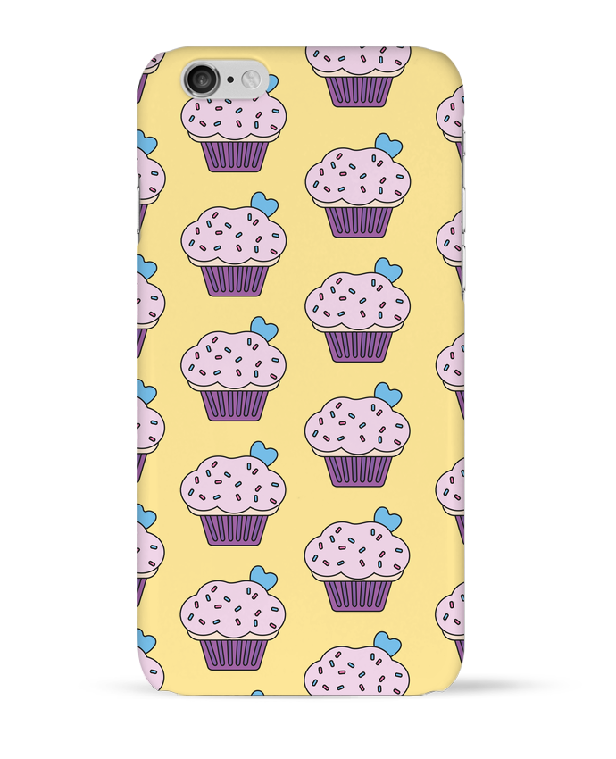Coque 3D Iphone 6 Cupcake coeur par tunetoo