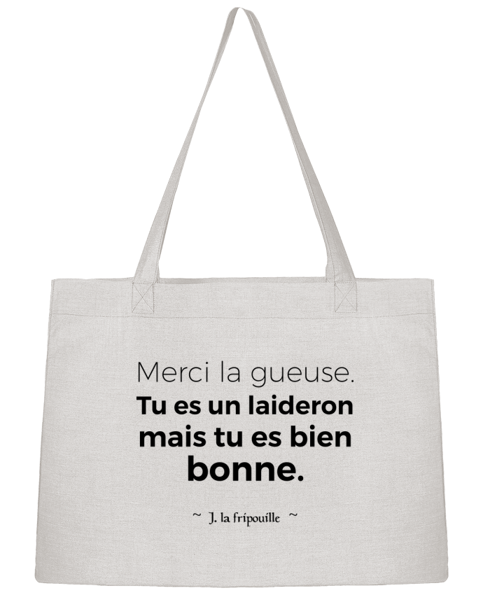 Sac Cabas Shopping Stanley Stella Merci la gueuse par tunetoo