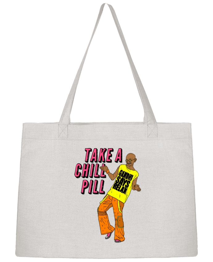 Sac Shopping Chill Pill par Nick cocozza