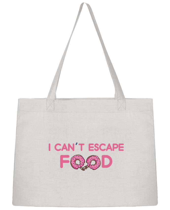 Sac Cabas Shopping Stanley Stella I can't escape food par tunetoo