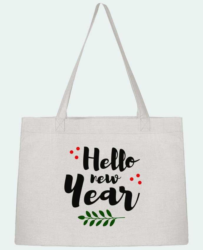 Sac Cabas Shopping Stanley Stella Hello New Year par tunetoo