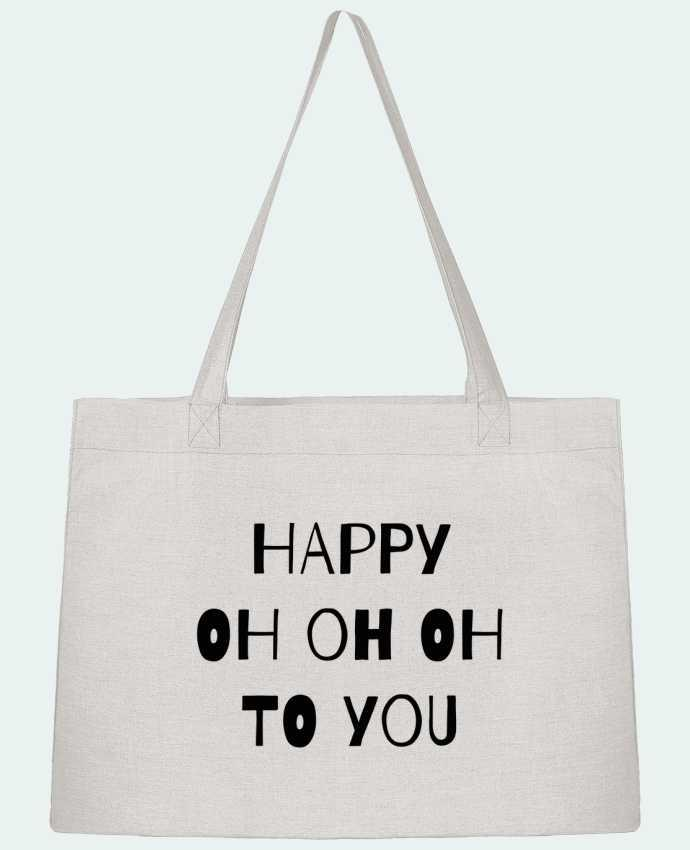 Sac Cabas Shopping Stanley Stella Happy OH OH OH to you par tunetoo