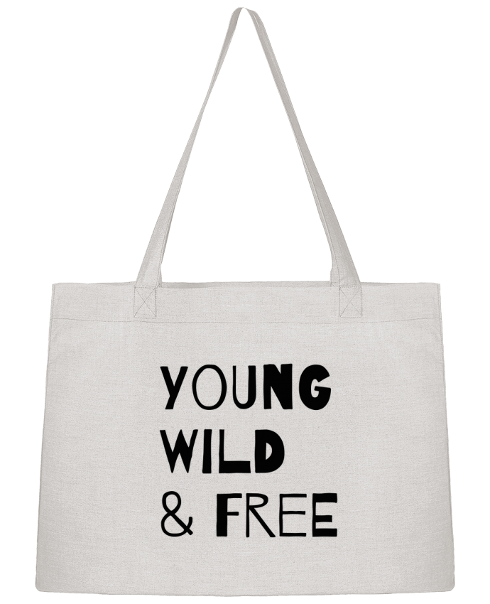 Sac Cabas Shopping Stanley Stella YOUNG, WILD, FREE par tunetoo