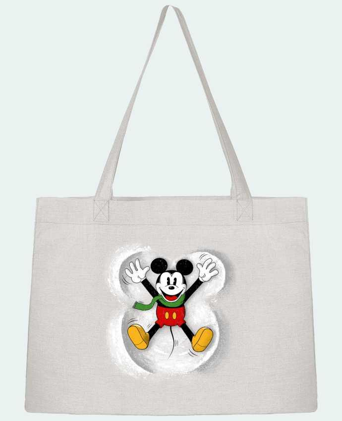 Sac Shopping Mickey in snow par Florent Bodart