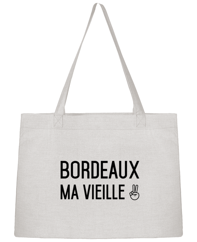Sac Shopping Bordeaux ma vieille par tunetoo