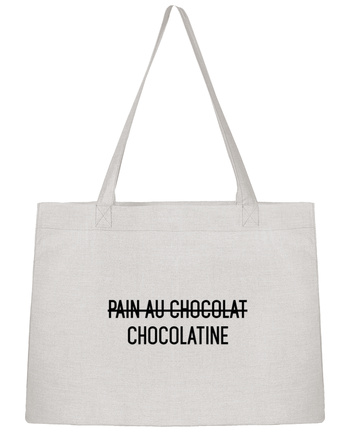 Sac Shopping Chocolatine par tunetoo