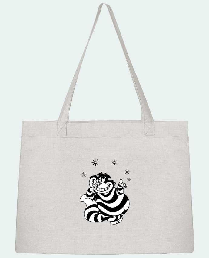 Sac Shopping Cheshire cat par tattooanshort