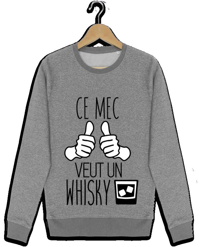 Sweat Col Rond Stella Seeks Ce mec veut un whisky par Benichan