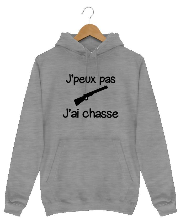 Sweat Shirt à Capuche Homme J'peux pas j'ai chasse - Chasseur par Benichan