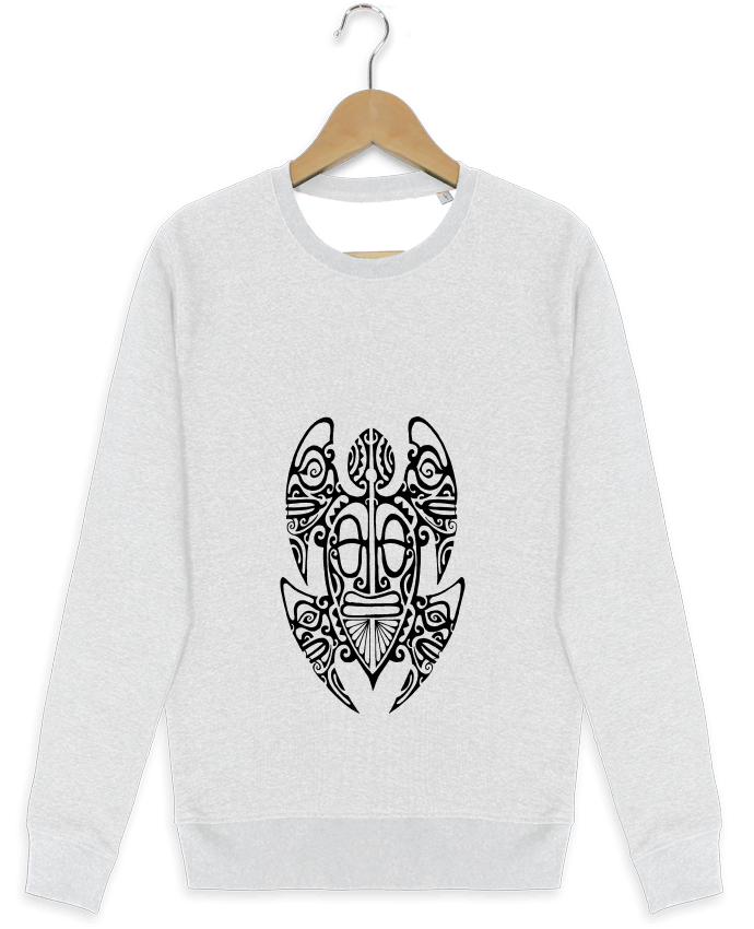 Sweat-shirt Stanley stella modèle seeks Tortue par TeanuanuaTatooDesign