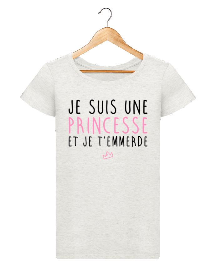 T-shirt Femme Stella Loves Je suis une princesse et je t'emmerde par LPMDL