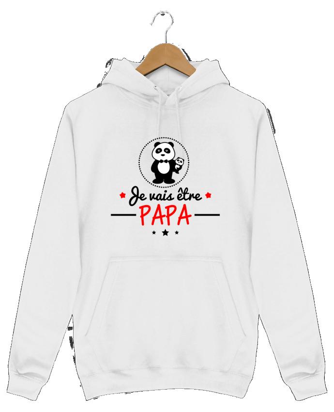 Sweat Shirt à Capuche Homme Bientôt papa , Futur père par Benichan