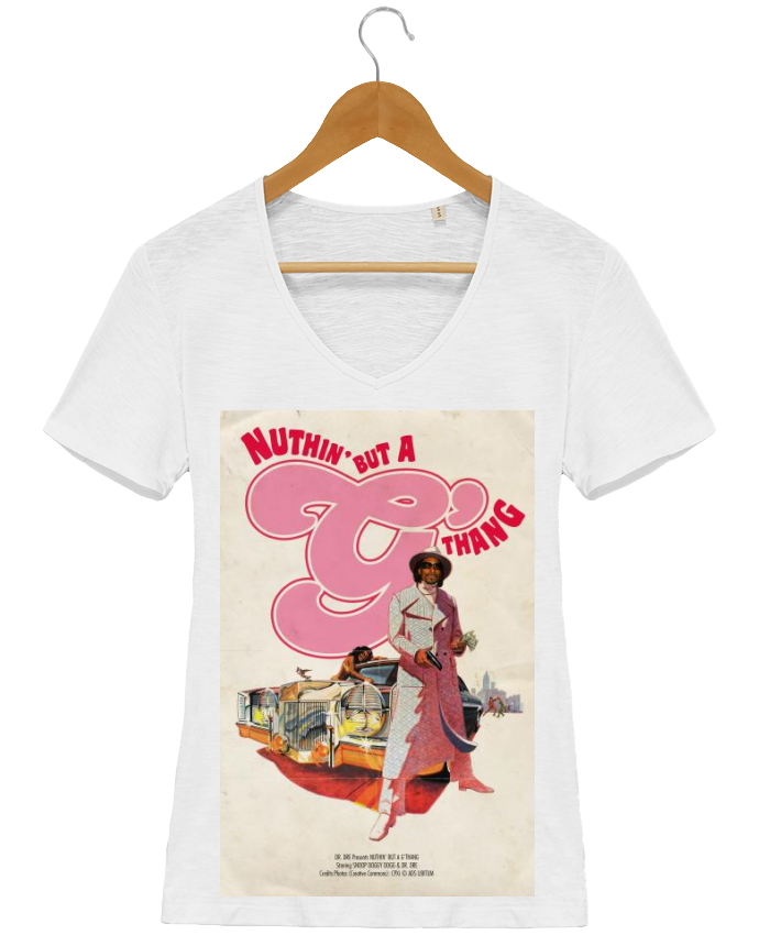 T-shirt Femme Col V Stella Chooses G Thang par Ads Libitum