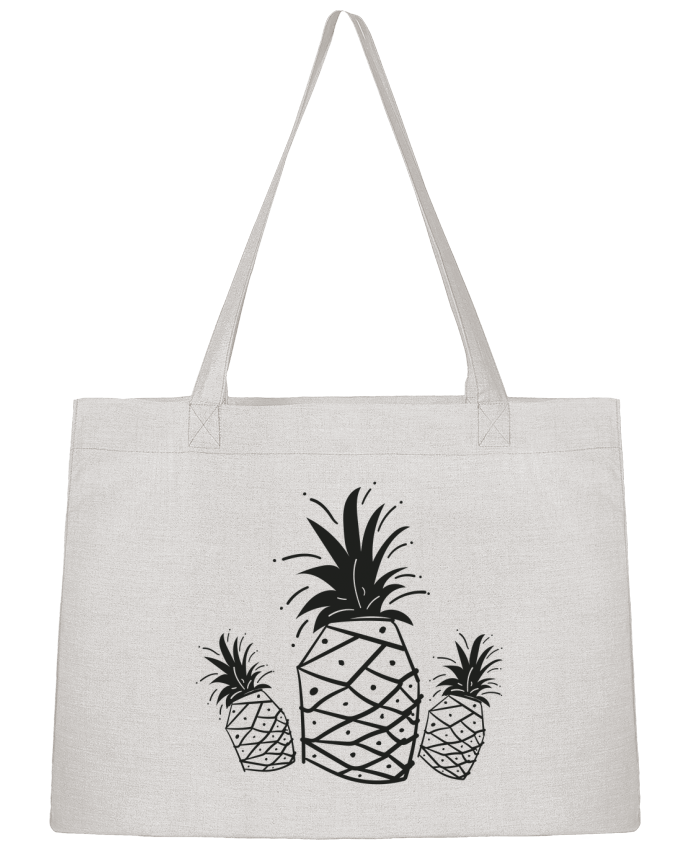 Sac Cabas Shopping Stanley Stella CRAZY PINEAPPLE par IDÉ'IN