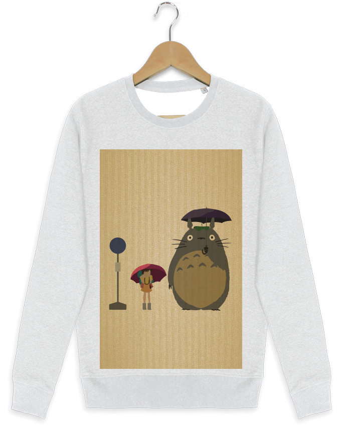 Sweat-shirt Stanley stella modèle seeks Totoro Flat par Dust