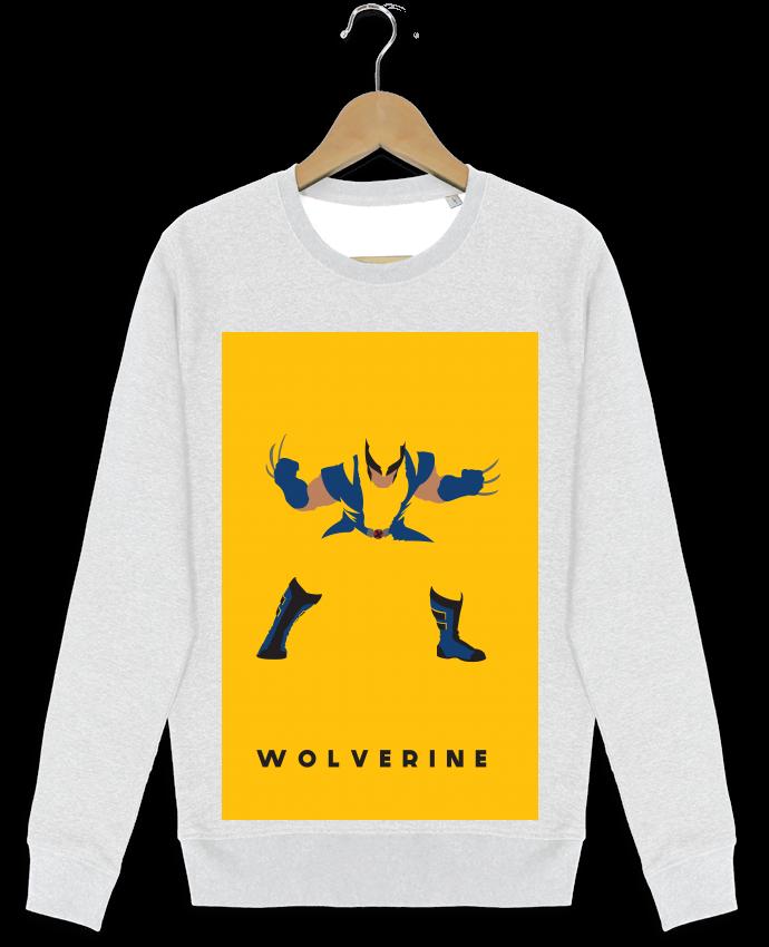 Sweat-shirt Stanley stella modèle seeks Wolverine Flat par Dust