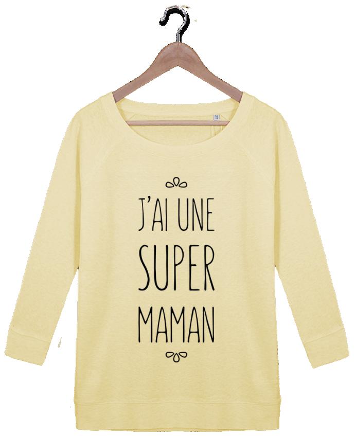 Sweat Manches 3/4 Femme Stella Amazes Tencel J'ai une super maman par tunetoo