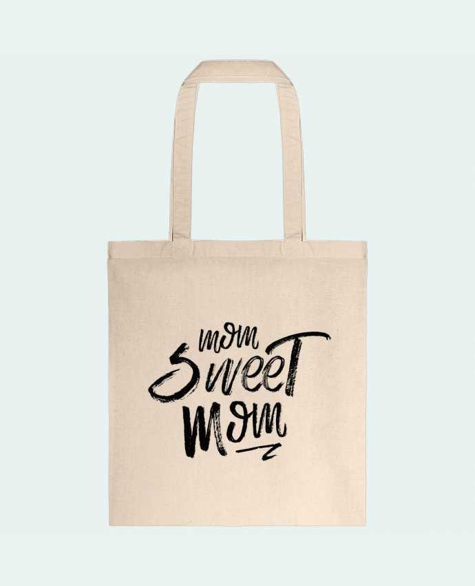 Sac en Toile Coton Mom sweet mom par tunetoo