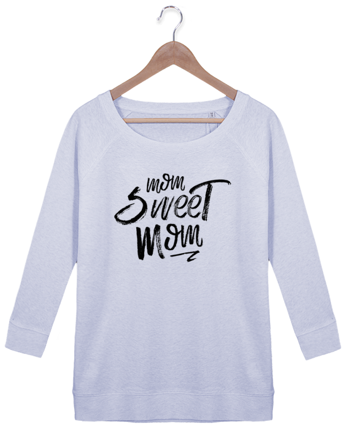Sweat Manches 3/4 Femme Stella Amazes Tencel Mom sweet mom par tunetoo