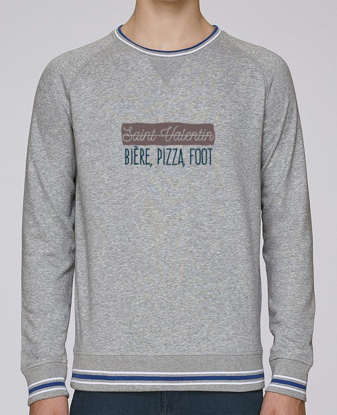 wholesale dealer b5e01 9da2a 2185395-sweat-homme -col-rond-stanley-strolls-tipped-h-grey-white-deep-royal-blue-saint-valentin-biere-pizza-foot-n-2-by-akengraphics.png