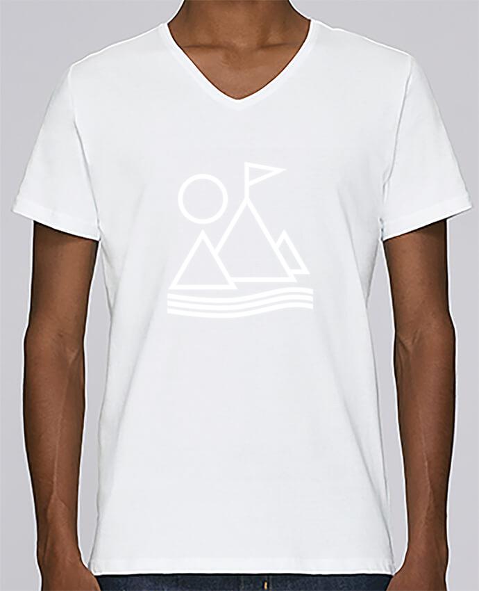 Camiseta en Stanley con V hombre By Pyramid Ruuud para cuello Relax Disney PXkiZuTO