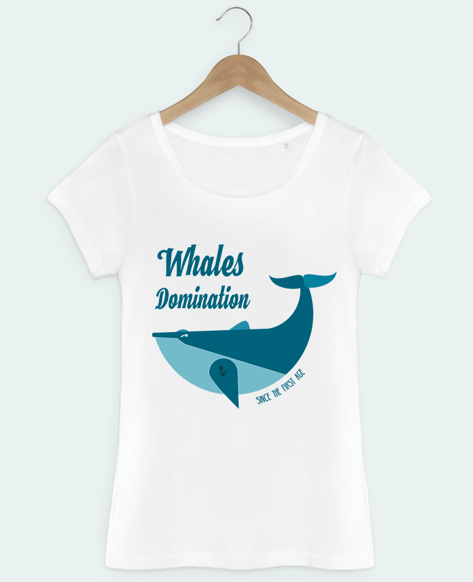 T-shirt femme Whales Domination Tunetoo