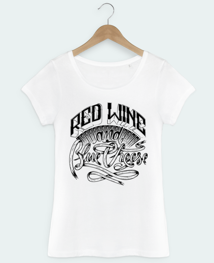 T-shirt femme Red Wine by Rancou Brice