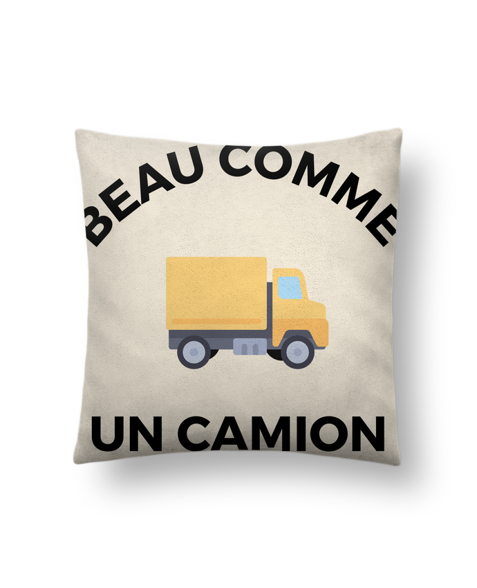 coussin toucher peau de p che 41 x 41 cm beau comme un camion ruuud. Black Bedroom Furniture Sets. Home Design Ideas