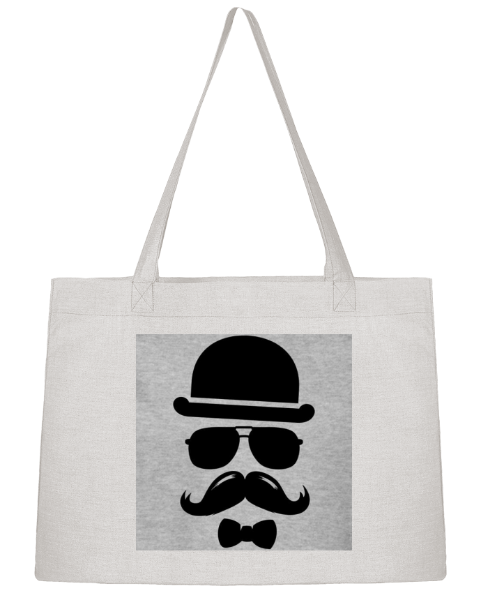Sac Cabas Shopping Stanley Stella Vetement moustache swag par mateo
