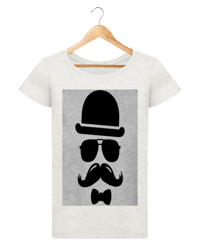 t shirt femme stella loves vetement moustache swag mateo. Black Bedroom Furniture Sets. Home Design Ideas