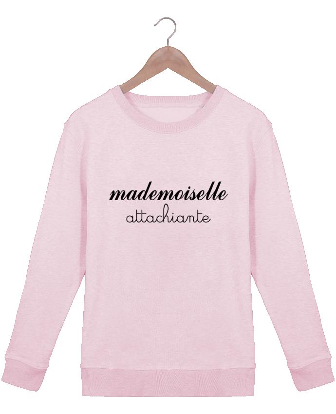 Sweat Col rond Femme Stella Hides Mademoiselle Attachiante par Freeyourshirt.com