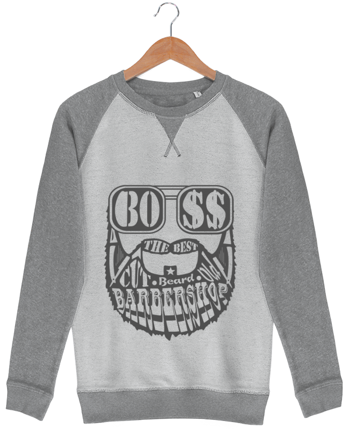 Sweat French Terry Barbershop par markageurbain