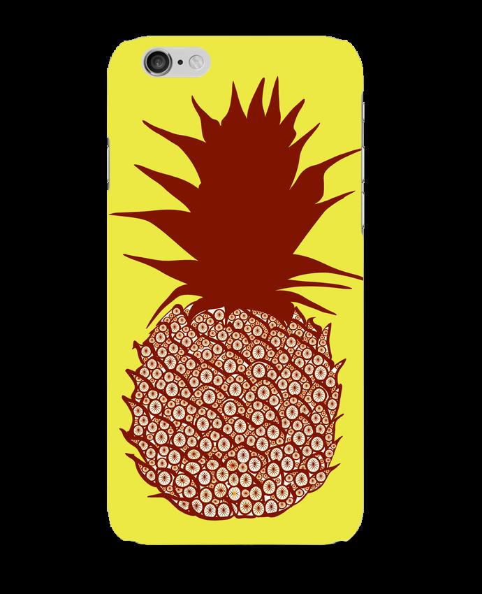 coque iphone 6 ananas rouge