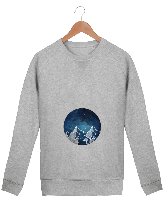 Sweat Col Rond Homme Stanley Strolls Canadian Mountain par Likagraphe