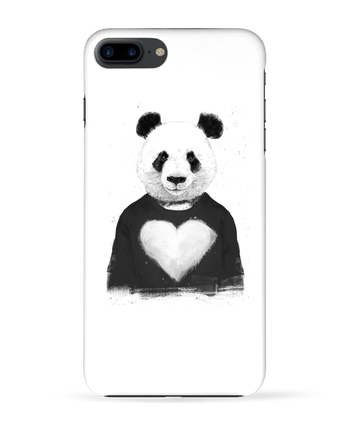 Coque 3D Iphone 7+ lovely_panda par Balàzs Solti